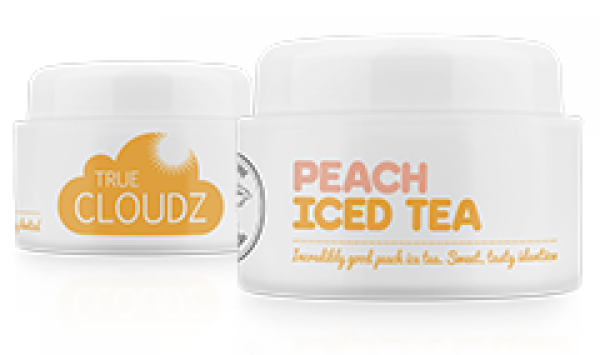 True Cloudz – Peach Ice Tea